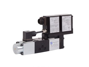 China MA-DHZO MA-DKZOR Hydraulic Proportional Valve 06 -10 flow 105L/MIN P=30bar supplier