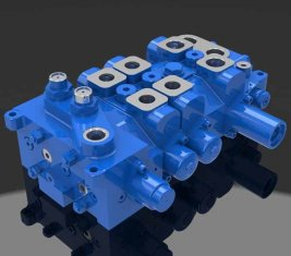 Multi - way Directional Hydraulic Valve 4 DP20GL-2 for Cranes