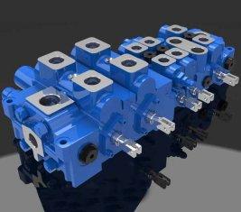 China Multi - way Load Sensing Directional Hydraulic Valve DP25-20G supplier