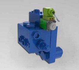 Crane Cushion Directional Hydraulic Valve HCF15L for Construction Machinery
