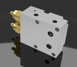 42MPa Two Way Balancing Directional Hydraulic Pressure Valve JLTS100
