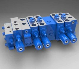 Full Load Sensitive Multi - way Directional Hydraulic Valve LTYB-G28L-5T