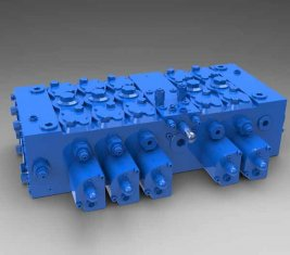 Full Load - sensitive Multi - way Directional Hydraulic Control Valve QFZMG32H