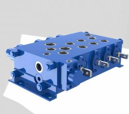 Crane Combinatorial control Directional Hydraulic Valve QYSF18-15
