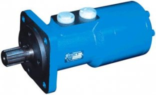 High Efficiency Hydraulic Orbit Motor BM3 with Straight Φ25 / Φ30 flat 8