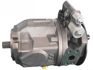3300 Rpm A10VSO18 Tandem Hydraulic Pump with SAE 2 hole UNC Inch Thread
