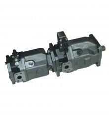 Axial Piston Pressure Control Tandem Hydraulic Pump A10VSO140 for 1800 Rpm