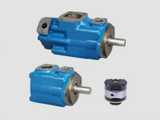 China 1200 Rpm Single Vickers Hydraulic Vane Pump with Water-in-oil Emulsions supplier