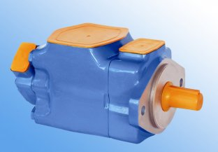 3525V 600 - 1500 Rpm Tandem Hydraulic Vane Pump with Water Glycol Fluid