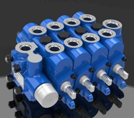 Engineering Multi Way Hydraulic Directional Control Valve 4GCJX-G12L