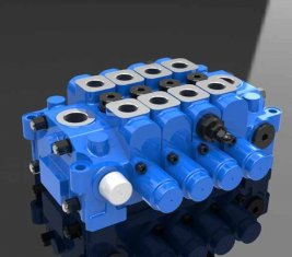 Hydraulic Multi Directional Control Valve 4GCJX-G18L for Engineering