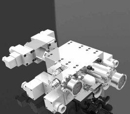 Mining Hydraulic Multi Way Directional Control Valve SCO1527(1)+SCO1245