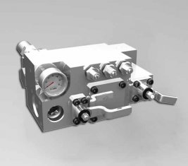 420 / 400 Bar Manual Water Directional Control Valve CLSF38-1