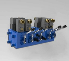 China Electro Hydraulic Directional Control Valve CMJF20 for 80 / 210 l / min supplier