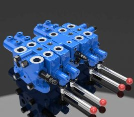 China Mining Hydraulic Check Multi Directional Control Valve DLYS supplier
